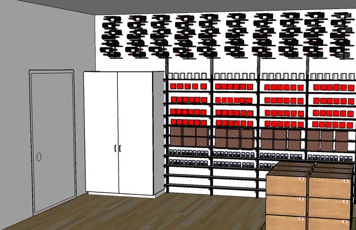 Cooling Storeroom