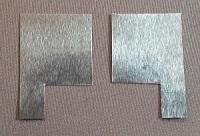 Cut Aluminum Electrodes