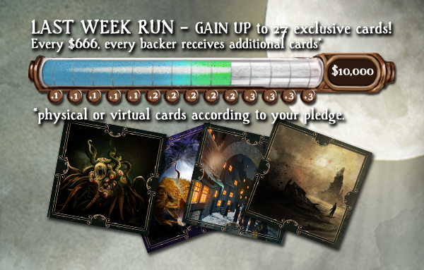 The last week run! Unlock additional cards together!
