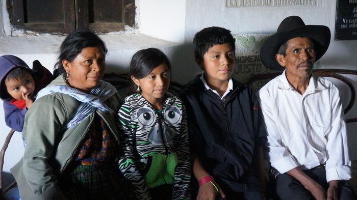 Grandparents Faustina & Patrocinio with grandchildren, Ulises, Beatriz & Darryel - Photo by Bea Gallardo