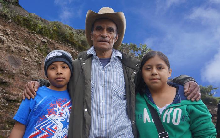 Grandpa Fidel and Granchildren Luis and Lilia - Photo by Bea Gallardo