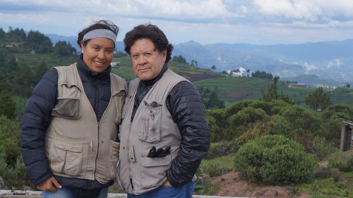 Bea Gallardo, Producer, and Luis Argueta, Director / Producer - Photo by René Soza