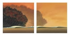 Wade Koniakowsky Lithograph  Under a Red Sky