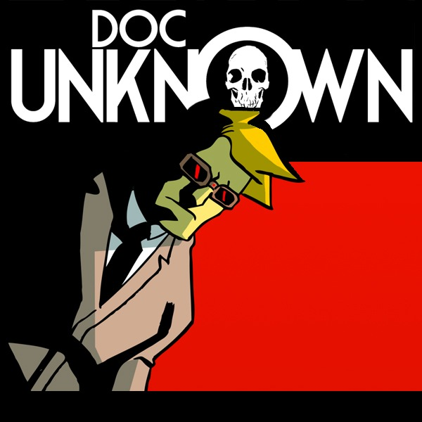The one-shot will be called DOC UNKNOWN and the GHOSTS OF GATE CITY and feature 4 short stories written by me and drawn by some of my favorite artists!
