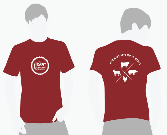 Our Stylish Heart & Trotter T-shirt
