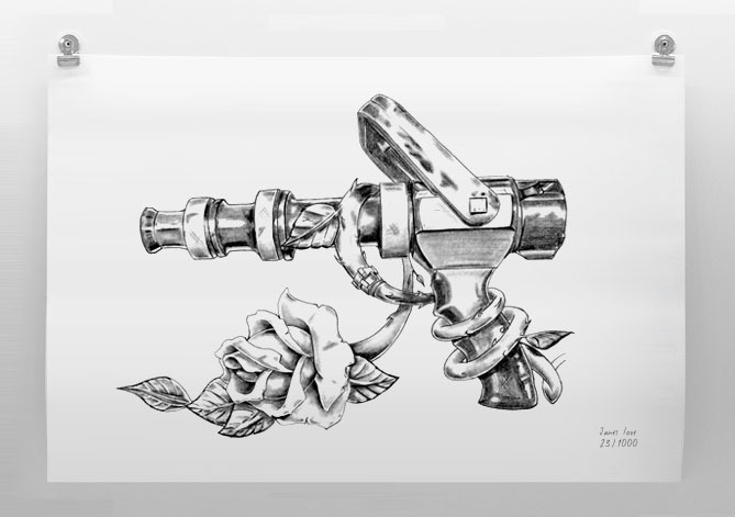 Solid Bore Limited Edition Print