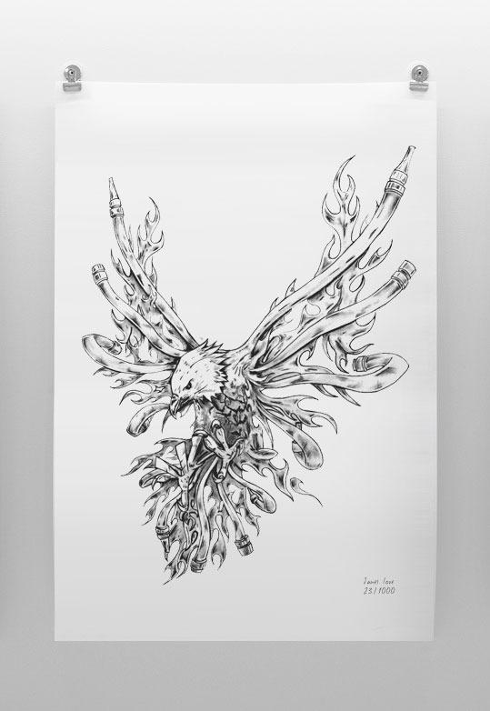 War Eagle Limited Edition Print