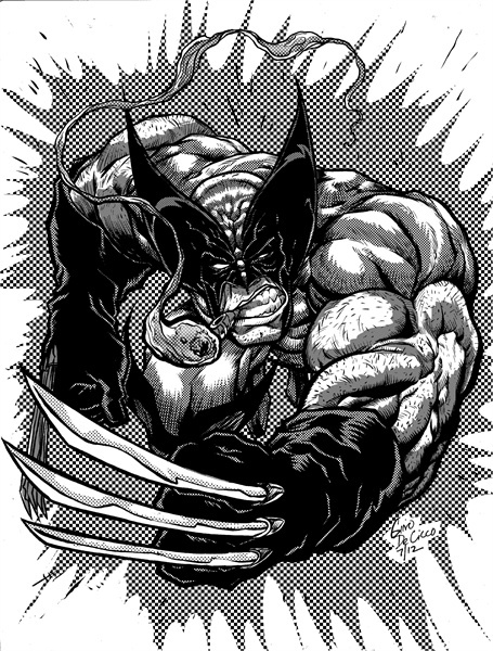 Gene Decicco character commission