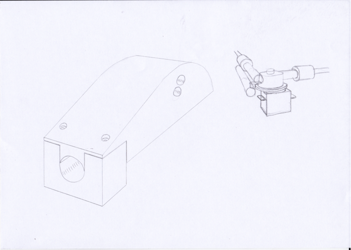 This was one of Daniel's early product design sketches.