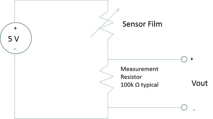 Circuit Schematic for Sensor Film