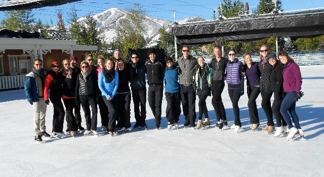 ITNY cast and residency participants in Sun Valley, Idaho in September 2013.