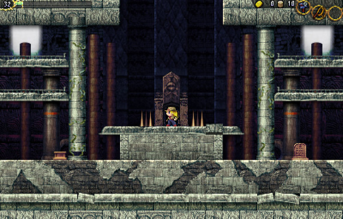 La-Mulana 2 will stick true to the original's classic gameplay (Prototype version pictured above)