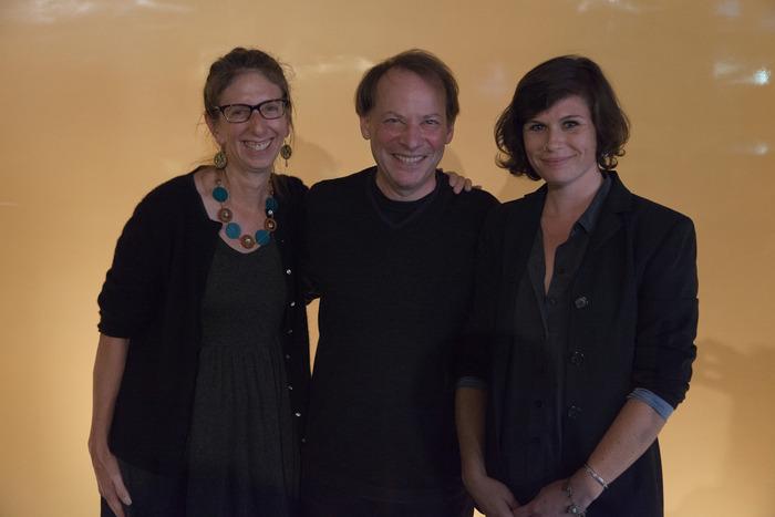 Producer Janice L. Kaplan, Adam Gopnik, and Director Hannah Jayanti