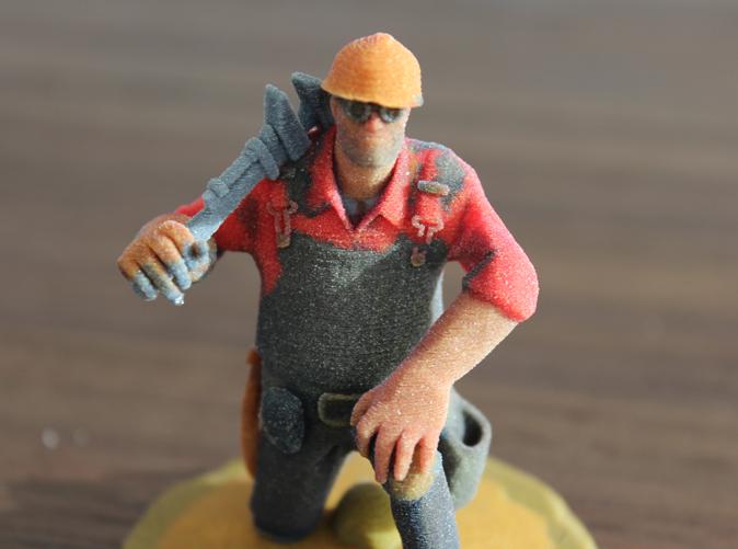 Example of a sandstone figurine