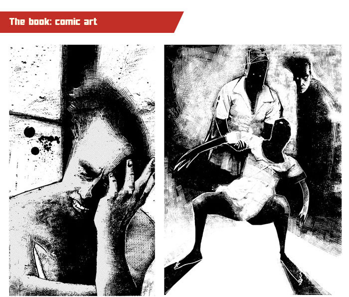 Loïc has also been known to dabble with comic book illustrations...