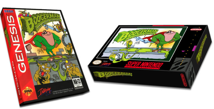 The Sega version was released in 1994, the SNES version in 1995, both featured different level layouts.