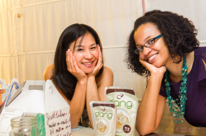 Sophia Chang of Kitchener Oakland and Christina Mitchell of East Bay Dish