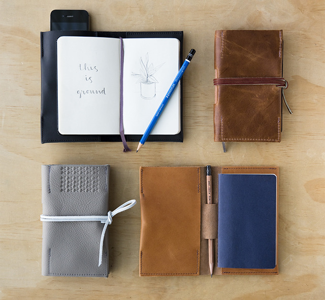 Leatherback Writer - you choose between Black, Whiskey, Grey or Tan