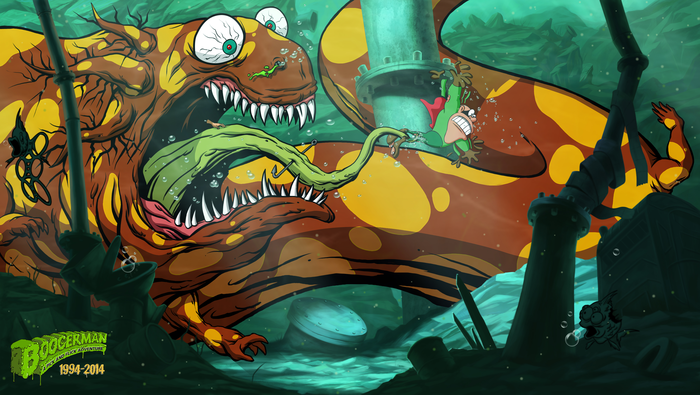 The re-imagined Sewers, featuring the Sewermander. Now with 100% more swimming!