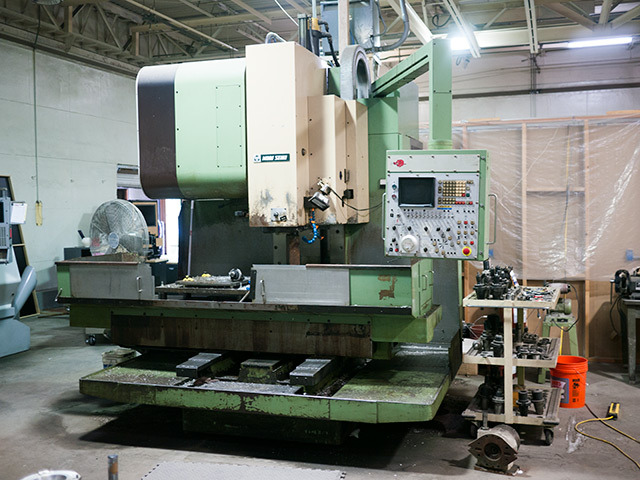 Our Mori Seiki CNC Mill ...its old but very accurate!
