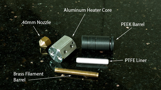 Anubis Hot End Components