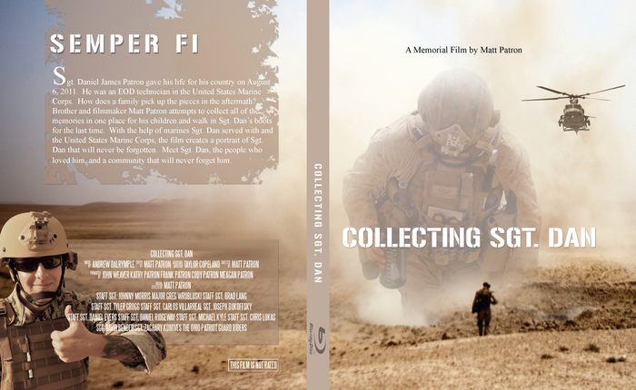 Blu-Ray case designed by Matt Patron for the release of the film.
