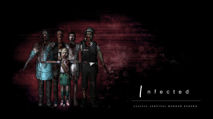 Some sample models of the romero zombies we have in the game.