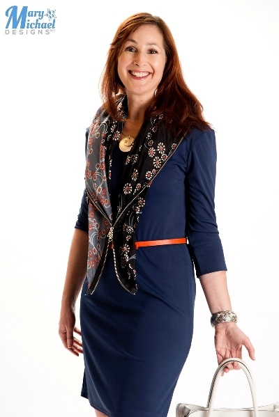 Catherine wearing the Agile Dress