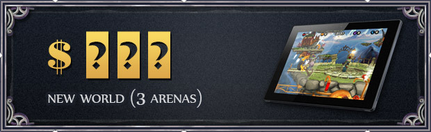 We'll release a new world (3 arenas)!