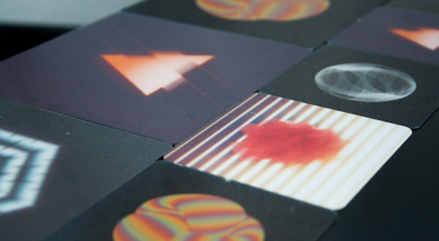 Some small, low resolution test prints of artist gifs.