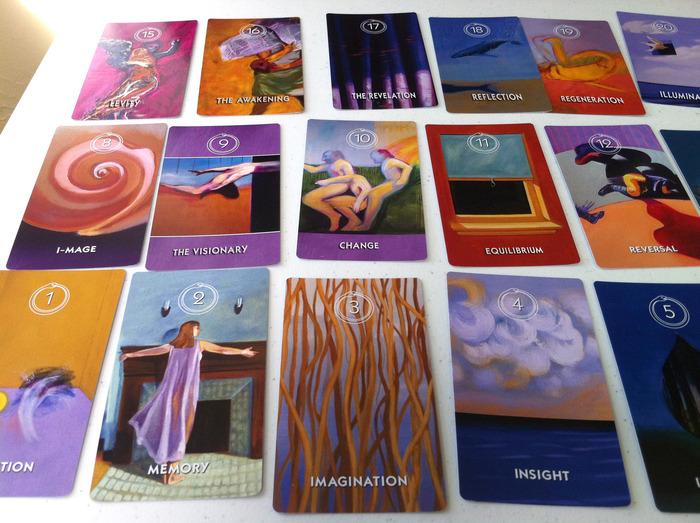 Table of Arcana cards