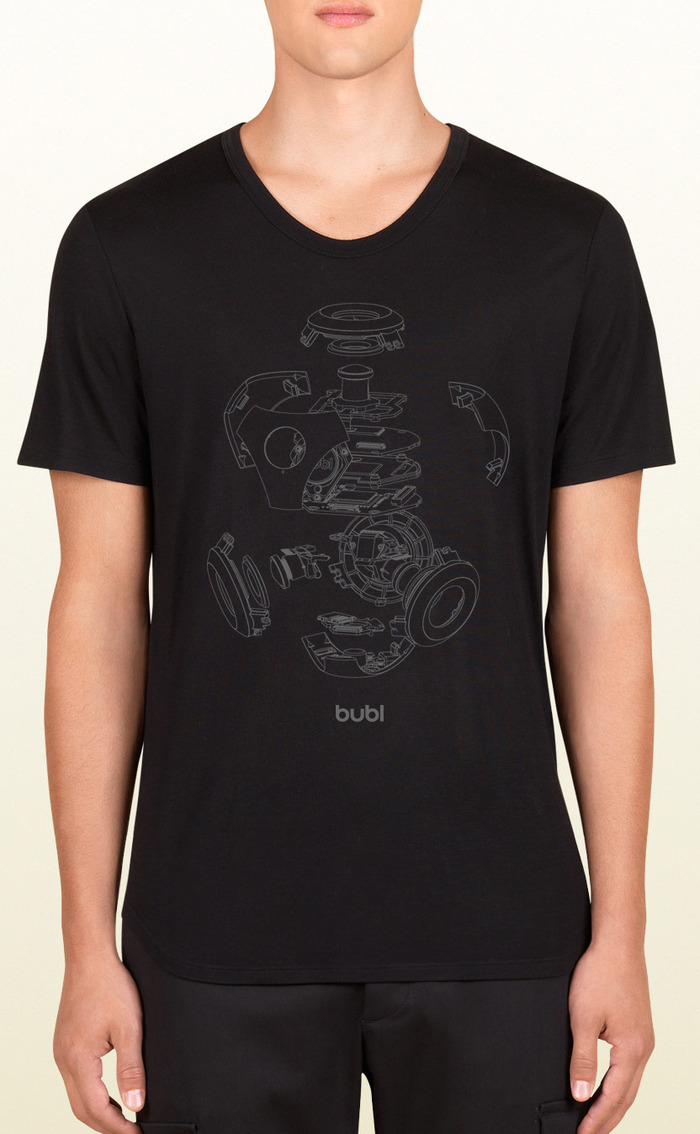 "limited edition ""exploded bublcam"" t-shirt"