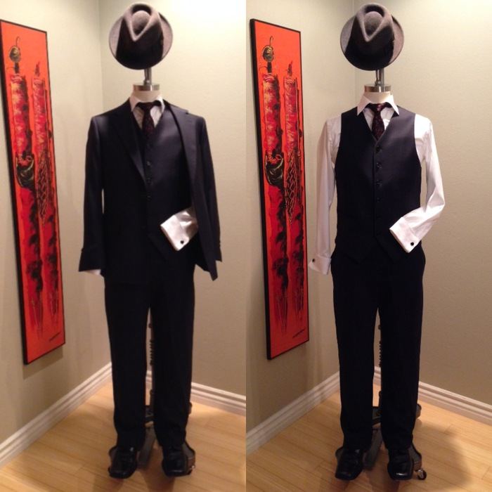 Custom tailored made to measure suit by Sharpe Suiting $750