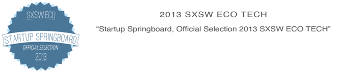 SXSW Eco Tech Official Springboard Selection
