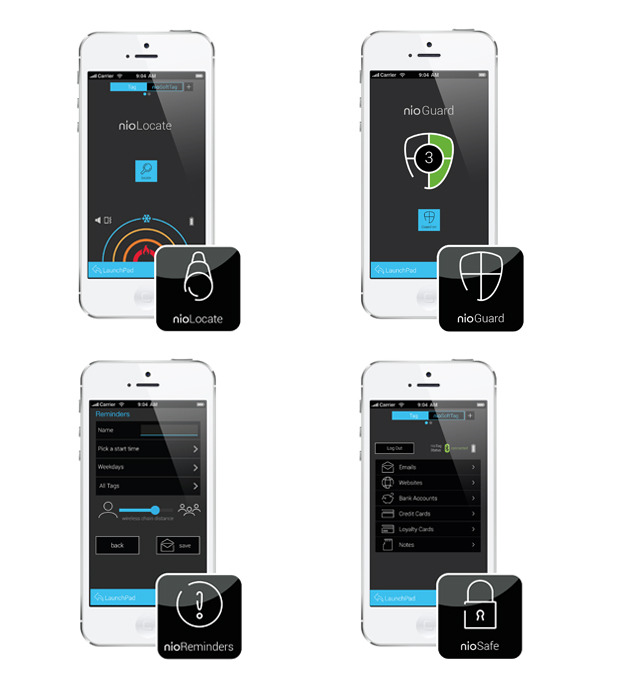 nio offers a growing range of dedicated apps