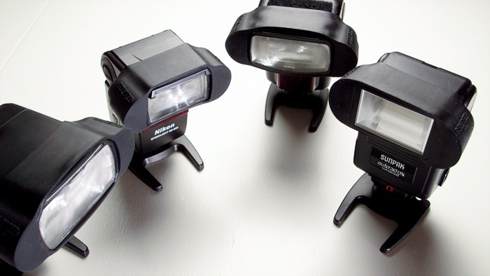 The MagGrip fits on every flash we've ever tried!  Any professional level hot-shoe flash should be good!