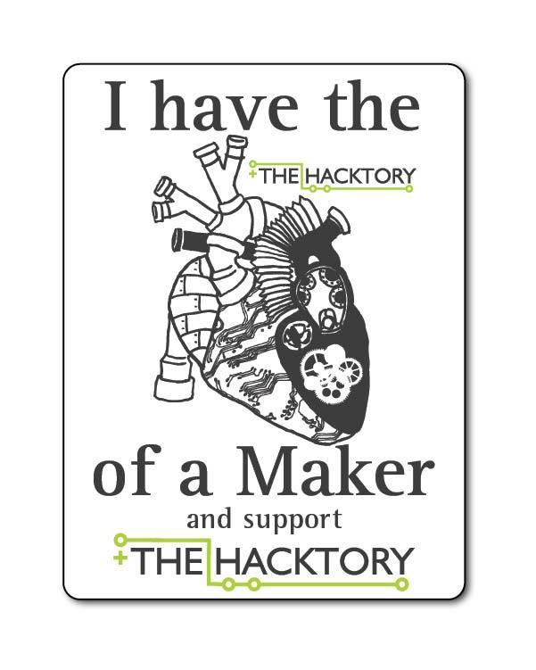 Backer Sticker