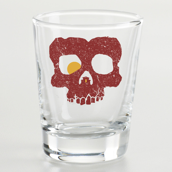Especially for bloodthirsty backers, at the $66 reward level, we'll throw in this WHY HORROR? shot glass.