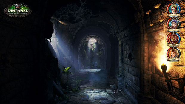 A look at one of the dungeons [Click to enlarge]