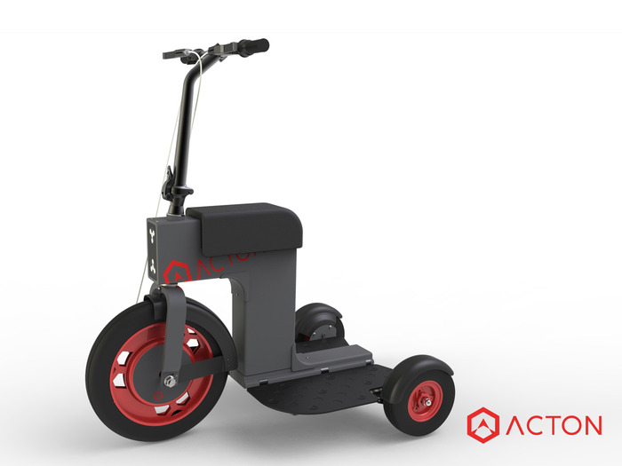 ACTON M SCOOTER LIMITED BLACK EDITION