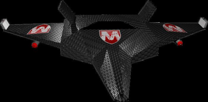 Metro Defender Drone Rendering