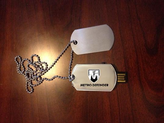 2GB Dog Tag USB (Artist Impression)