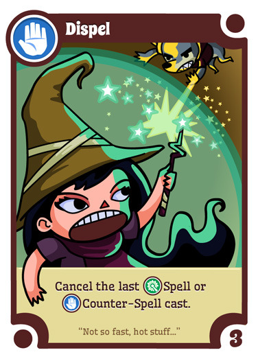 Dispel - another of the WANDS cards