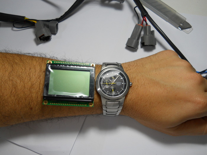 Sizing the Original LCD