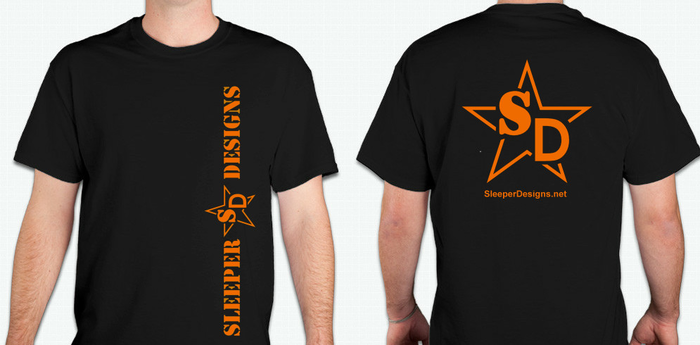 Sleeper Designs T-Shirt!