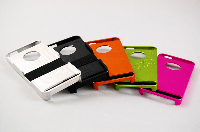 Choose from 4 rich anodized colors: Black, Orange, Green, and Pink!