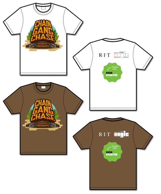 You can add $15 to any reward tier and get a shirt, or add $5 to a reward that already has a shirt and get a second shirt!