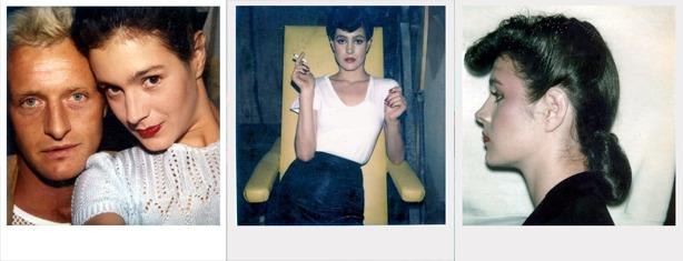 polaroids from the shoot of Blade Runner