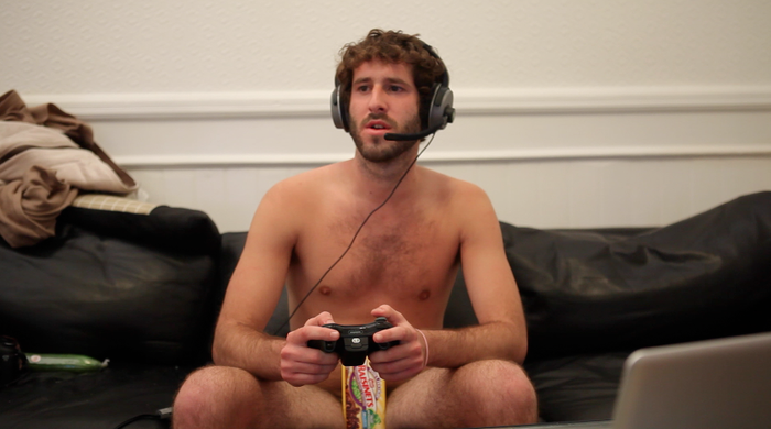 Here's me naked in a music video.