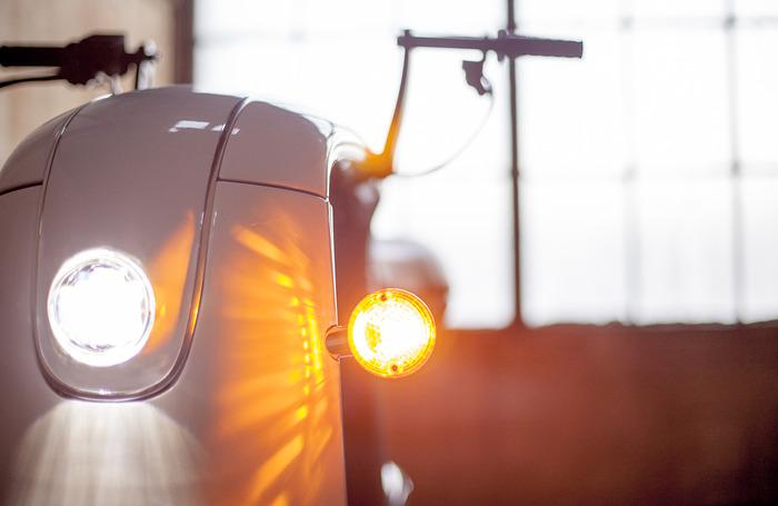 LED headlight, yum!